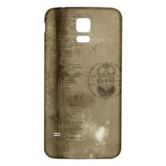 Declaration Samsung Galaxy S5 Back Case (White)