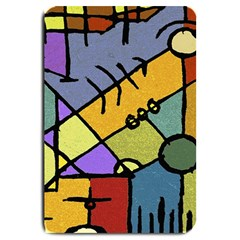 Multicolored Tribal Pattern Print Large Door Mat