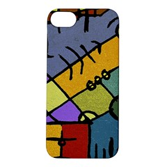 Multicolored Tribal Pattern Print Apple Iphone 5s Hardshell Case