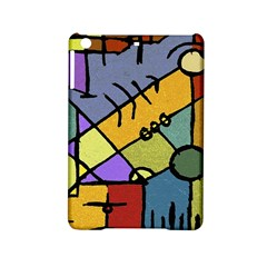 Multicolored Tribal Pattern Print Apple Ipad Mini 2 Hardshell Case