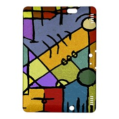 Multicolored Tribal Pattern Print Kindle Fire Hdx 8 9  Hardshell Case