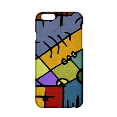 Multicolored Tribal Pattern Print Apple iPhone 6 Hardshell Case