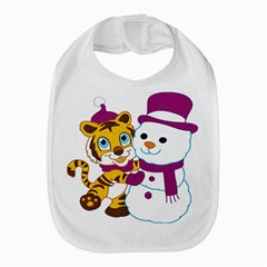 Winter Time Zoo Friends   004 Bib