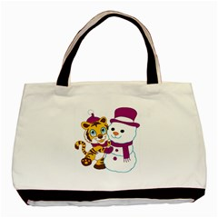 Winter Time Zoo Friends   004 Classic Tote Bag