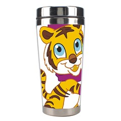 Winter Time Zoo Friends   004 Stainless Steel Travel Tumbler