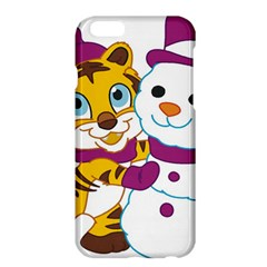 Winter Time Zoo Friends   004 Apple iPhone 6 Plus Hardshell Case