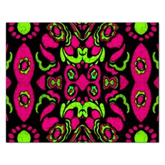Psychedelic Retro Ornament Print Jigsaw Puzzle (rectangle)