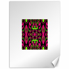 Psychedelic Retro Ornament Print Canvas 36  X 48  (unframed)