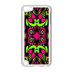 Psychedelic Retro Ornament Print Apple iPod Touch 5 Case (White)