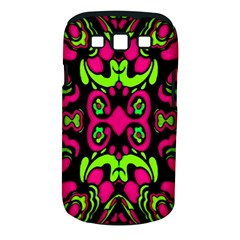 Psychedelic Retro Ornament Print Samsung Galaxy S III Classic Hardshell Case (PC+Silicone)