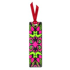 Psychedelic Retro Ornament Print Small Bookmark