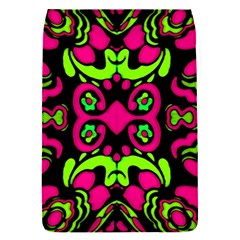 Psychedelic Retro Ornament Print Removable Flap Cover (Small)