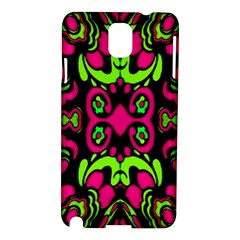 Psychedelic Retro Ornament Print Samsung Galaxy Note 3 N9005 Hardshell Case