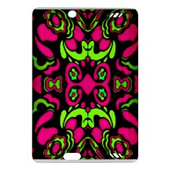 Psychedelic Retro Ornament Print Kindle Fire HD (2013) Hardshell Case