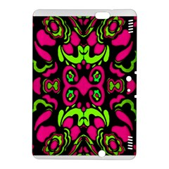 Psychedelic Retro Ornament Print Kindle Fire HDX 8.9  Hardshell Case