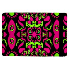 Psychedelic Retro Ornament Print Apple iPad Air Flip Case
