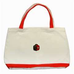 Image 717 Classic Tote Bag (Red)