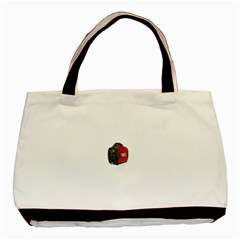 Image 717 Twin Sided Black Tote Bag