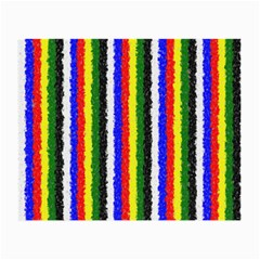 Basic Colors Curly Stripes Glasses Cloth (Small, Two Sided)