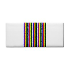 Basic Colors Curly Stripes Hand Towel