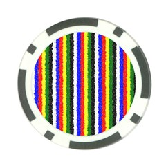 Basic Colors Curly Stripes Poker Chip (10 Pack)