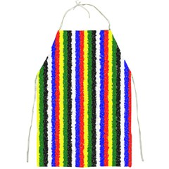 Basic Colors Curly Stripes Apron