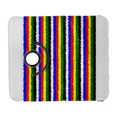 Basic Colors Curly Stripes Samsung Galaxy S  III Flip 360 Case