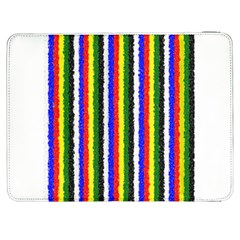 Basic Colors Curly Stripes Samsung Galaxy Tab 7  P1000 Flip Case