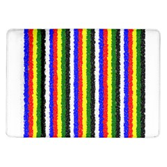 Basic Colors Curly Stripes Samsung Galaxy Tab 10 1  P7500 Flip Case