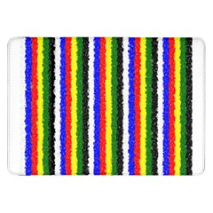 Basic Colors Curly Stripes Samsung Galaxy Tab 8.9  P7300 Flip Case