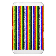 Basic Colors Curly Stripes Samsung Galaxy Tab 3 (8 ) T3100 Hardshell Case