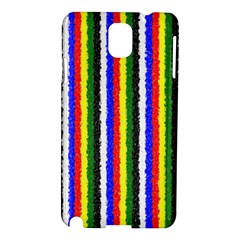 Basic Colors Curly Stripes Samsung Galaxy Note 3 N9005 Hardshell Case