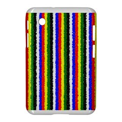 Basic Colors Curly Stripes Samsung Galaxy Tab 2 (7 ) P3100 Hardshell Case