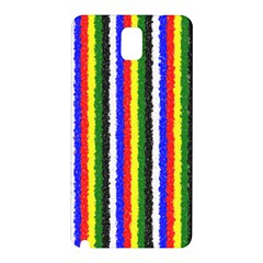 Basic Colors Curly Stripes Samsung Galaxy Note 3 N9005 Hardshell Back Case