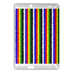 Basic Colors Curly Stripes Kindle Fire Hd (2013) Hardshell Case