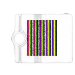 Basic Colors Curly Stripes Kindle Fire Hdx 8 9  Flip 360 Case