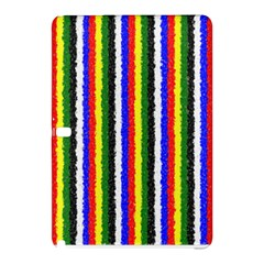 Basic Colors Curly Stripes Samsung Galaxy Tab Pro 10.1 Hardshell Case
