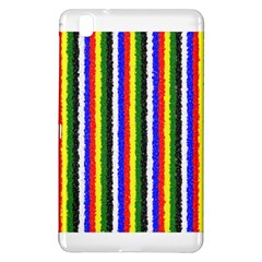 Basic Colors Curly Stripes Samsung Galaxy Tab Pro 8.4 Hardshell Case