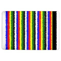 Basic Colors Curly Stripes Apple iPad Air Flip Case