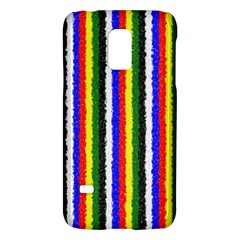 Basic Colors Curly Stripes Samsung Galaxy S5 Mini Hardshell Case