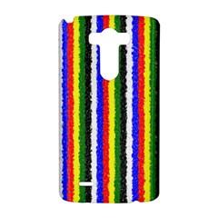 Basic Colors Curly Stripes LG G3 Hardshell Case