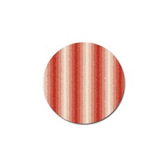 Red Curly Stripes Golf Ball Marker