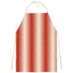 Red Curly Stripes Apron