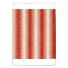 Red Curly Stripes Removable Flap Cover (large)