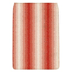 Red Curly Stripes Removable Flap Cover (Small)