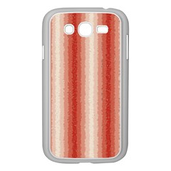 Red Curly Stripes Samsung Galaxy Grand DUOS I9082 Case (White)