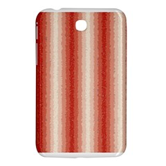 Red Curly Stripes Samsung Galaxy Tab 3 (7 ) P3200 Hardshell Case