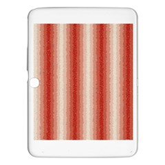 Red Curly Stripes Samsung Galaxy Tab 3 (10 1 ) P5200 Hardshell Case