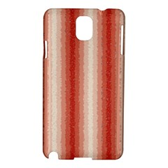 Red Curly Stripes Samsung Galaxy Note 3 N9005 Hardshell Case