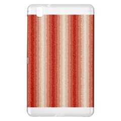Red Curly Stripes Samsung Galaxy Tab Pro 8.4 Hardshell Case